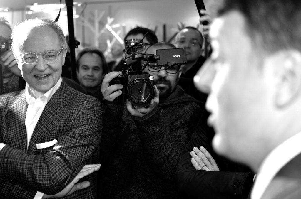 Matteo Renzi in visita presso lo stabilimento di Thiene di Estel Group