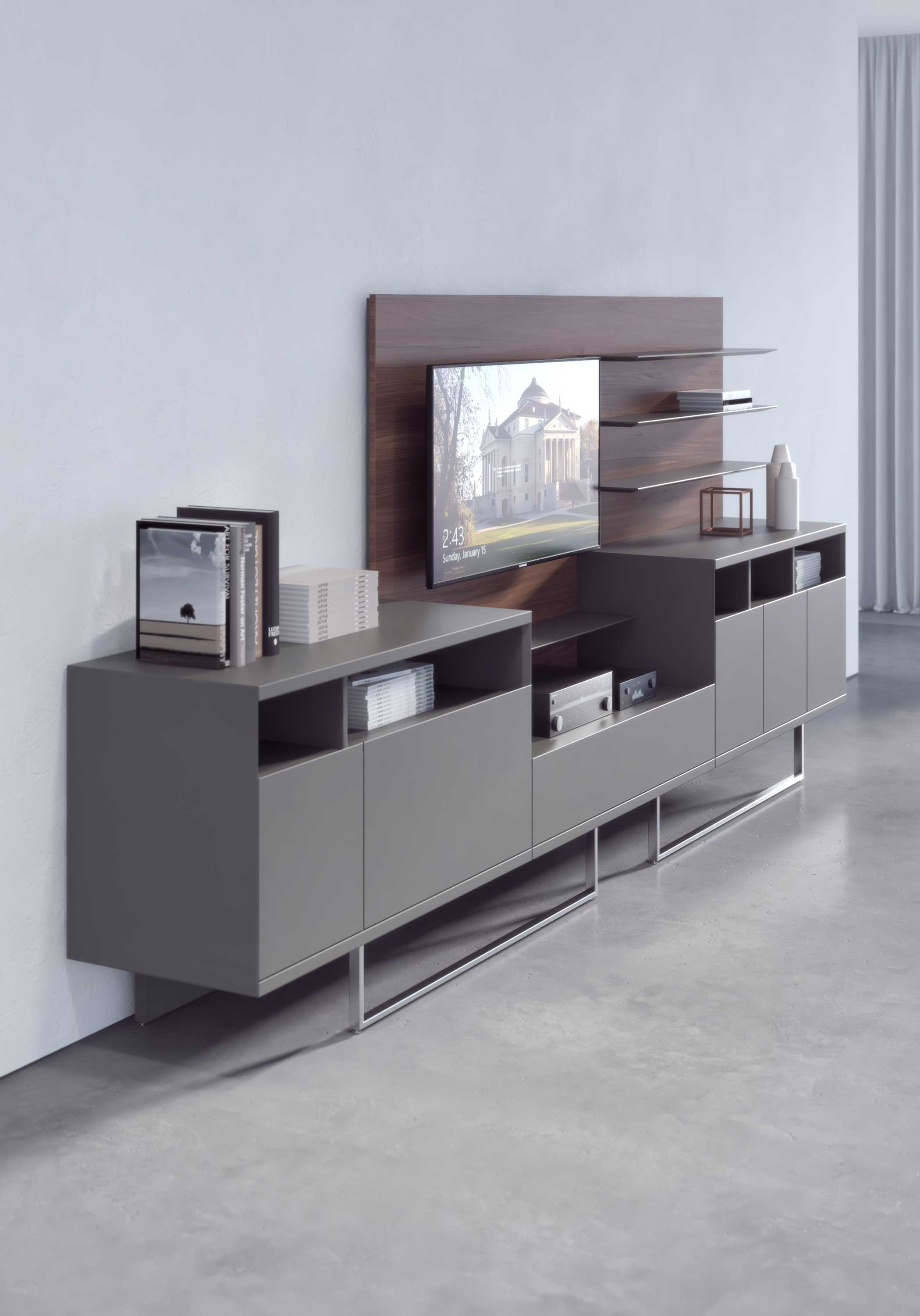 01S_Estel_Executive&Common-Area_Bookcase&Storage_Credenze