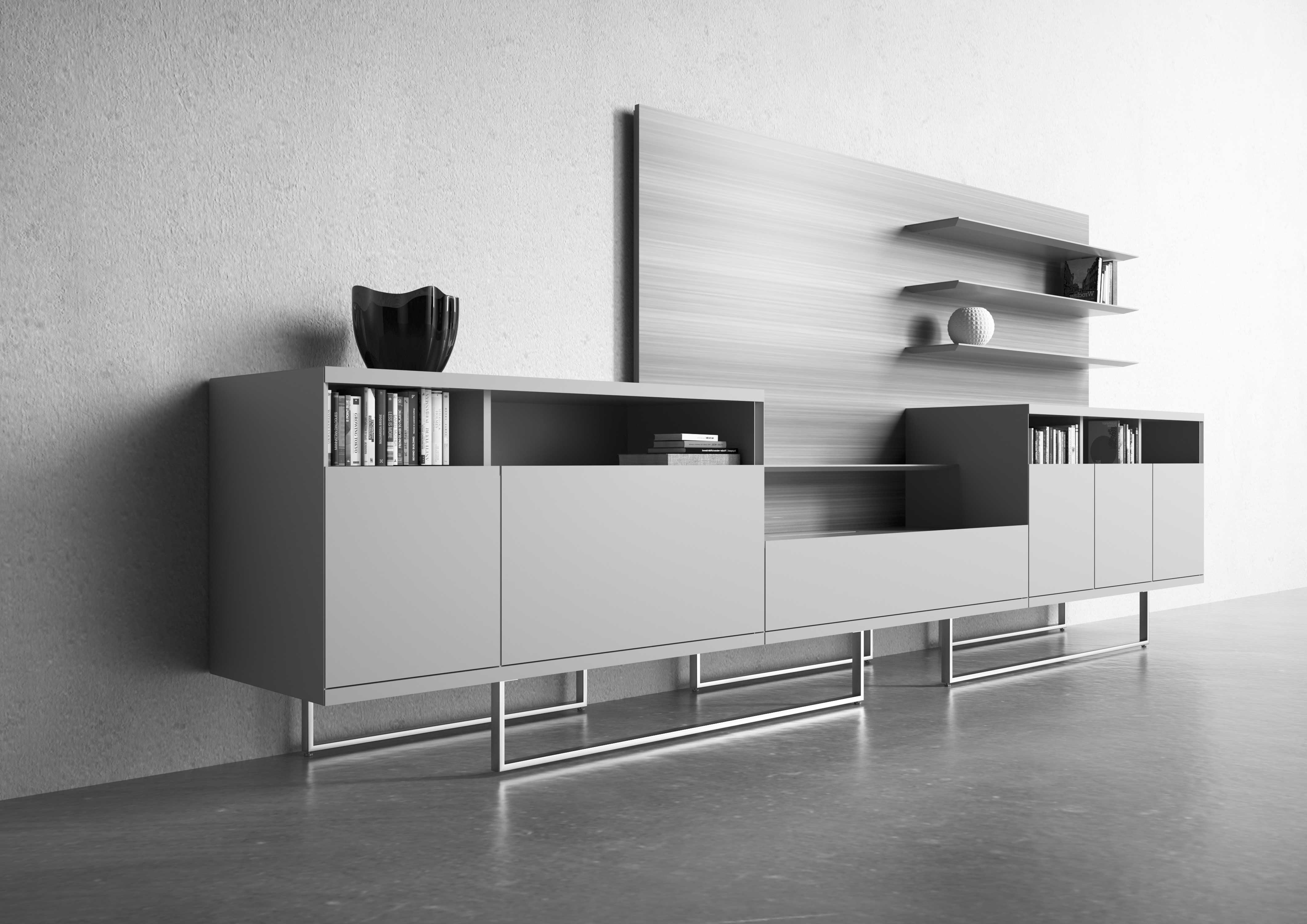 03S_Estel_Executive&Common-Area_Bookcase&Storage_Credenze