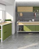 03G_Estel_Le case Italiane_Cucina Wiwa_Buffet_Banco a parete